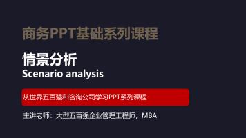商务PPT情景分析免费版(JC01)