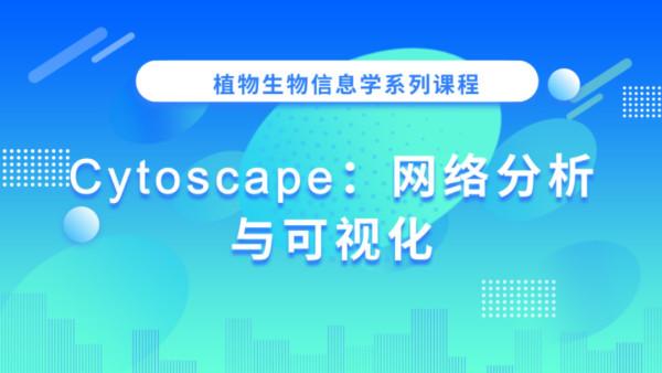 Cytoscape:网络分析与可视化