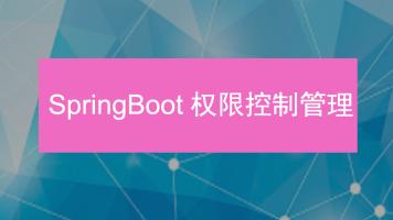 Springboot权限控制管理