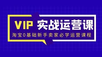 【鑫巢教育】淘宝0基础新手卖家必学运营课程
