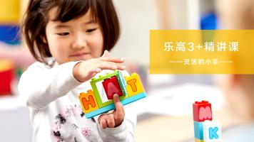 乐高3岁+精讲课-灵活的小手