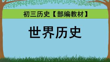 初中历史初三历史九年级历史:世界历史【2020部编新教材】