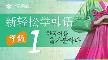 新轻松学韩语中级上册