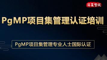 PgMP项目集管理认证培训-试听