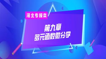 河北专接本高等数学/高数【第九章  多元函数微分学】