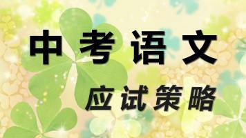 中考 语文 应试策略
