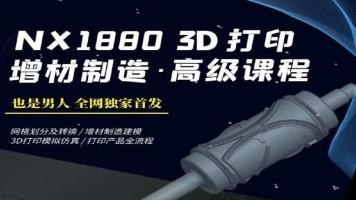 UG NX1880 3D打印增材制造高级课程(也是男人)