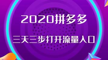 【博源拼多多】2020新手小白迅速带动流量,打造爆款玩法【直播】