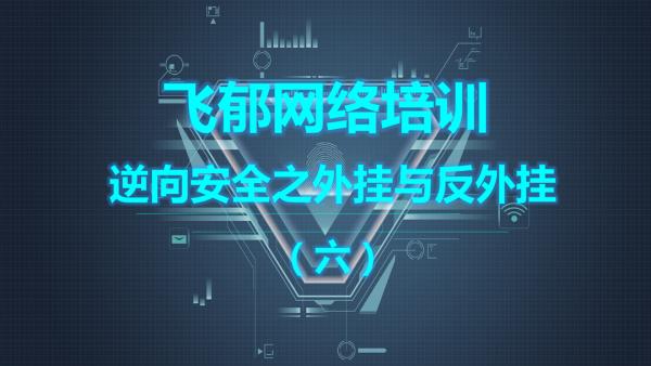 飞郁网络培训2019逆向安全之外挂与反外挂技术课程(六)