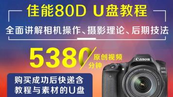 U盘版-佳能80D摄影从入门到精通