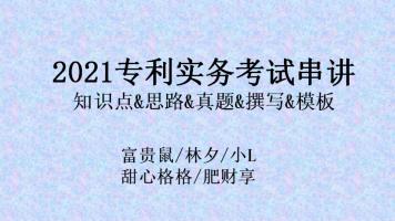 2021年专利代理师实务考试串讲四天课-(富贵鼠领衔最强团队)