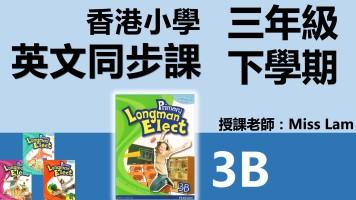 香港小学英文同步班(三年級下學期3B共12堂)
