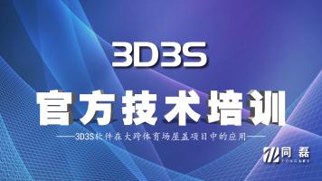 2020年第七期3D3S软件培训