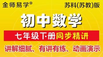 苏科版初中数学七年级下册江苏凤凰科学出版社苏教版同步数学课程