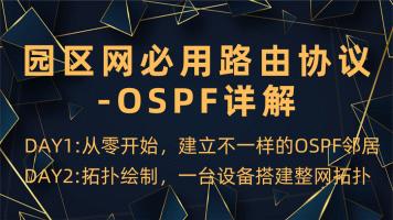 园区网必用路由协议之OSPF训练营