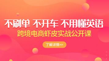 跨境电商虾皮Shopee基础系列课程【优梯跨境】