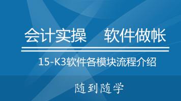 15K3软件各模块流程介绍
