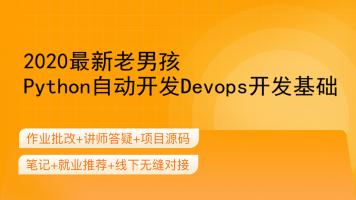 2020最新老男孩Python自动开发Devops开发基础