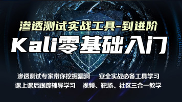Kali渗透/黑客/Web安全/测试/渗透/信息安全/网络安全/攻防/ctf