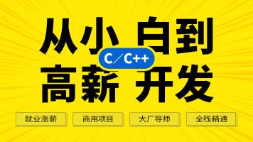 C语言/C++ 零基础到大神(C++17/项目实战/后台开发/QT/音视频)