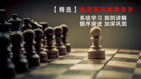 【零基础】遨游国际象棋世界海洋