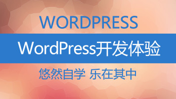 WordPress主题开发体验课程