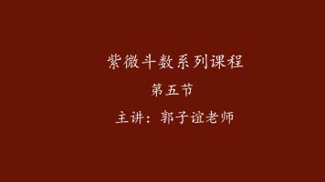 郭子谊讲紫微斗数系列课程【05】