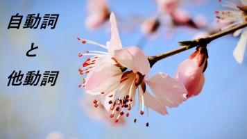 日语自他动词的辨析