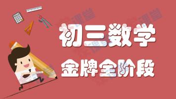 初三数学-金牌全阶段系列课程【家课堂网校】