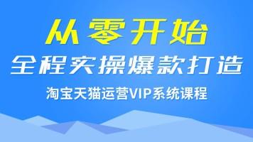 VIP 系统课程淘宝/天猫运营 从零开始全程实操爆款打造