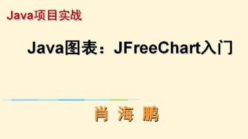 Java图表:JFreeChart实例视频