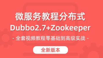20年Zookeeper、Dubbo视频教程 微服务 分布式教 SpringBoot整合