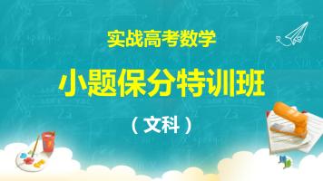 2020小题保分特训班(文科)