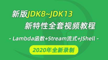 2020全新JDK8~JDK13全套新特性视频教程java教程lambda函数式编程