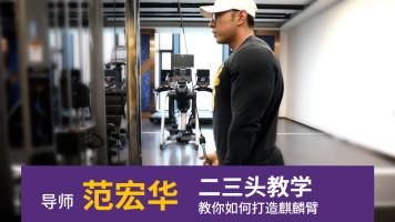 (健身)范宏华手臂训练教学视频