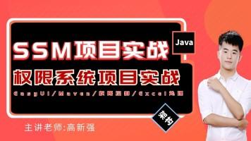 JavaEE框架5-SSM框架之权限系统项目