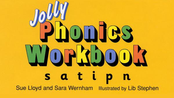 自然拼读 | 课程③-⑧Jolly Phonics Workbook 自然拼读