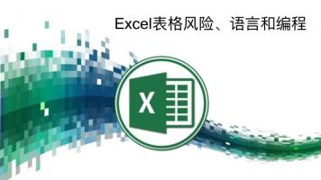 Excel表格风险、语言和编程