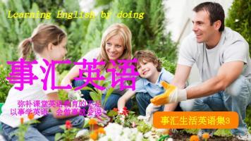 事汇英语, 学说对且自然的英语(本内容有课程讲解,共200个视频)