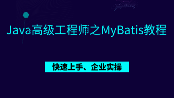 Java高级工程师之MyBatis教程