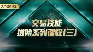 文华视频课堂-交易技能进阶系列课程(三)