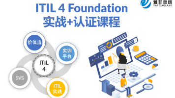 PeopleCert ITIL 4 Foundation认证实战课程
