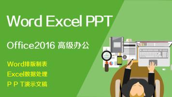 Office2016高级商务办公必学Word Excel PPT三科【Office微课】