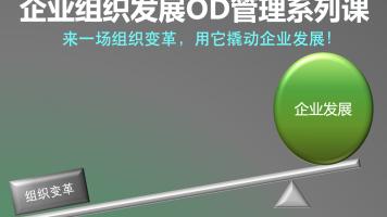 企业组织发展OD管理系列课(企业变革/组织架构/组织管控/企业管理