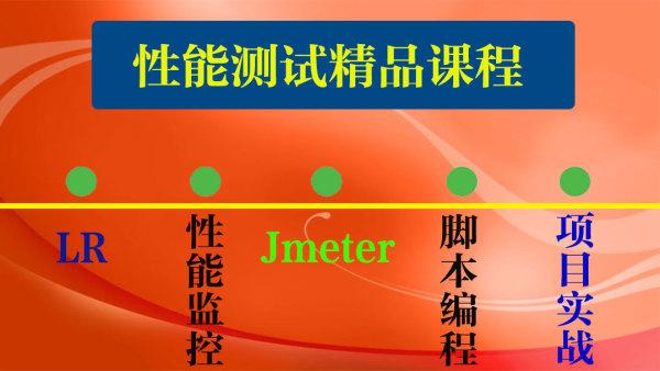 性能测试/loadrunner/jmeter/性能监控优化/app性能/web性能课程