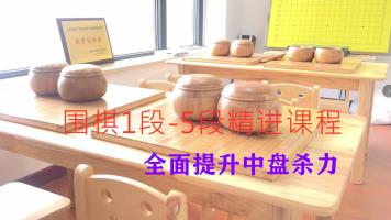 棋行正道围棋俱乐部(棋友会)定段升段1段-5段精进课程