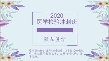 2020检验冲刺班
