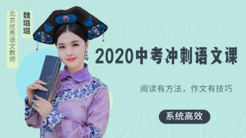 2020中考冲刺语文课