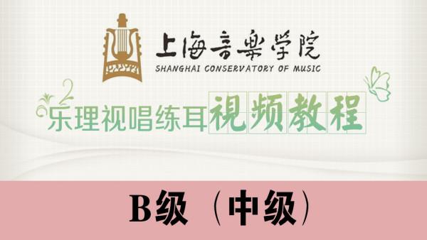 上海音乐学院-乐理视唱练耳视频教程【B级】