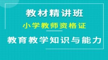 小学《教育教学知识与能力》教材精讲班